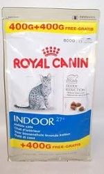 Royal Canin Indoor 27 400g+400g GRATIS