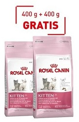 Royal Canin Kitten 36 400g+400g GRATIS