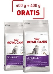 Royal Canin Sensible 33 400g+400g GRATIS